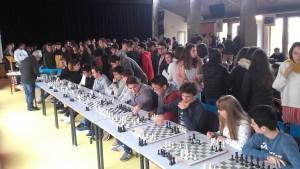 Simultânea de Xadrez